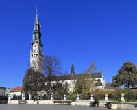 Jasna Gora Pauline Order Monastery en heiligdom in Czestochowa, Polen Stock Foto
