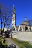 Jasna Gora Pauline Order Monastery en heiligdom in Czestochowa, Polen Royalty-vrije Stock Afbeelding