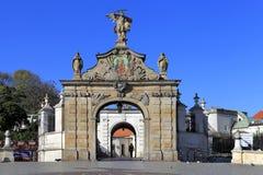 Jasna Gora Pauline Order Monastery och fristad i Czestochowa, Polen Royaltyfri Fotografi