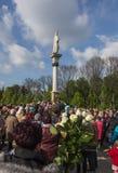Jasna Gora, Polen, 13 Mei, 2017: Verering met Mary de Koningin  Stock Afbeeldingen