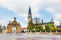 Jasna Gora sanctuary in Czestochowa, Poland Stock Photo