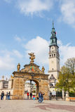 Jasna Gora sanctuary in Czestochowa, Poland. Very important and most popular pilgrimary place Stock Photography