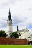 Jasna Gora w Mieście Częstochowski fotografia stock