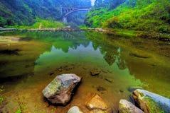 jasna jeziora wody Obraz Royalty Free