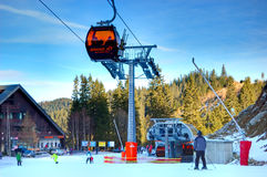 Jasna Low Tatras ski resort in Slovakia Stock Photo