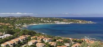 jasne Corsica kryształu wody Obrazy Royalty Free