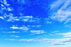 jasne niebo Zdjęcie Stock