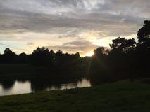 jasne słońce Fotografia Royalty Free