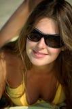 jasnego dzień dziewczyny lato fotografia stock