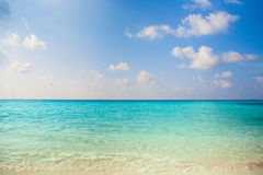 Jasnego wodnego tropikalnego natury tła kurort na wyspie wakacyjny luksusowy atol o rafy koralowa wolności snorkel przygodzie Obrazy Royalty Free