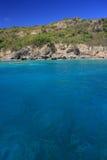 jasnej wyspy tropikalna woda Zdjęcia Royalty Free