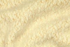 Jasnożółty zmięty luksusowy kaszmirowy tło Zdjęcie Stock