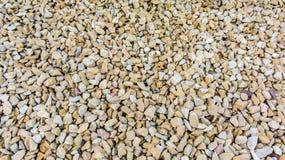 Jasnobrązowi kamienie jako naturalna tekstura zdjęcia stock