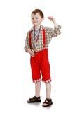 Jasnogłowa chłopiec zdjęcie stock