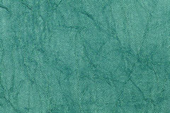 Jasnozielony perełkowy falisty tło od tekstylnego materiału Tkanina z naturalnym tekstury zbliżeniem Obraz Stock