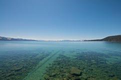 jasny jeziorny tahoe fotografia royalty free