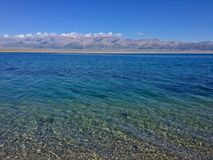 Jasny jezioro zdjęcia stock