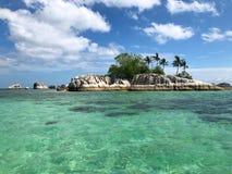 jasny krystaliczny morze Zdjęcia Royalty Free