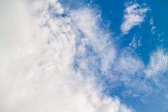 Jasny nieba tło Obraz Stock
