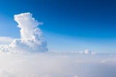 Jasny niebo Fotografia Stock