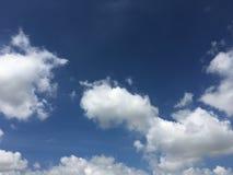 Jasny niebo Zdjęcia Stock