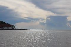 Jasny niebo przy Koh Samui, Tajlandia obraz royalty free