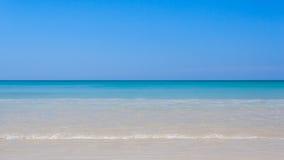 Jasny oceanu krajobraz zdjęcia stock