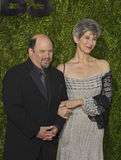 Jason Alexander Arrives at 2015 Tony Awards Royalty Free Stock Photography