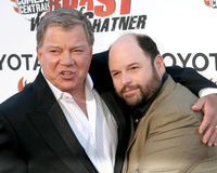 Jason Alexander, William Shatner Fotografia de Stock Royalty Free