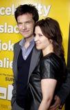 Jason Bateman και Amanda Anka Στοκ Φωτογραφία