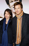 Jason Bateman και Amanda Anka Στοκ φωτογραφίες με δικαίωμα ελεύθερης χρήσης