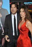Jason Bateman & Amanda Anka Stock Photography