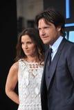 Jason Bateman & Amanda Anka Royalty Free Stock Image