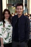 Jason Bateman och Amanda Anka Royaltyfri Fotografi