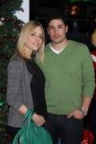 Jason Biggs, Jenny Mollen Royalty-vrije Stock Foto's
