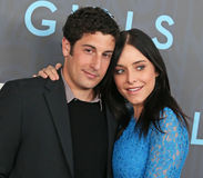 Jason Biggs and Jenny Mollen Royalty Free Stock Photography