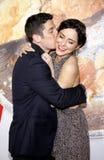Jason Biggs and Jenny Mollen Royalty Free Stock Photo