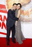 Jason Biggs och Jenny Mollen royaltyfria foton