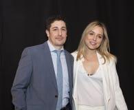 Jason Biggs och Mollen royaltyfri foto