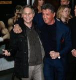 Jason Binn, Sylvester Stallone Royalty Free Stock Photo