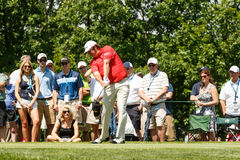 Jason Dufner at the Memorial Tournament Royalty Free Stock Photo