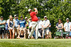 Jason Dufner at the Memorial Tournament Royalty Free Stock Image