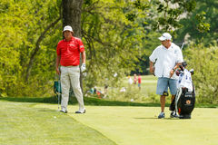 Jason Dufner at the Memorial Tournament Stock Image