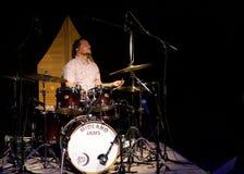 Jason Harrison Smith με Αλβέρτο Lee σε Midland, Οντάριο Στοκ Εικόνα
