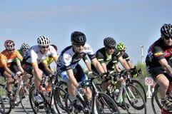 Jason LaPierre Cycling Criterium 2016 royalty-vrije stock fotografie