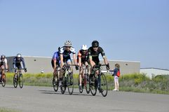 Jason LaPierre Cycling Criterium 2016 stock foto