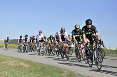 Jason LaPierre Cycling Criterium 2016 royalty-vrije stock foto