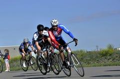 Jason LaPierre Cycling Criterium 2016 royalty-vrije stock afbeeldingen