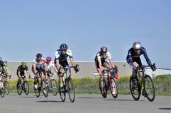 Jason LaPierre Cycling Criterium 2016 royalty-vrije stock afbeelding