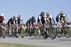 Jason LaPierre Cycling Criterium 2016 stock foto's